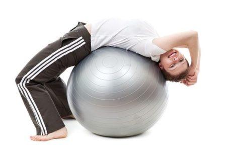 ejercicio pelota